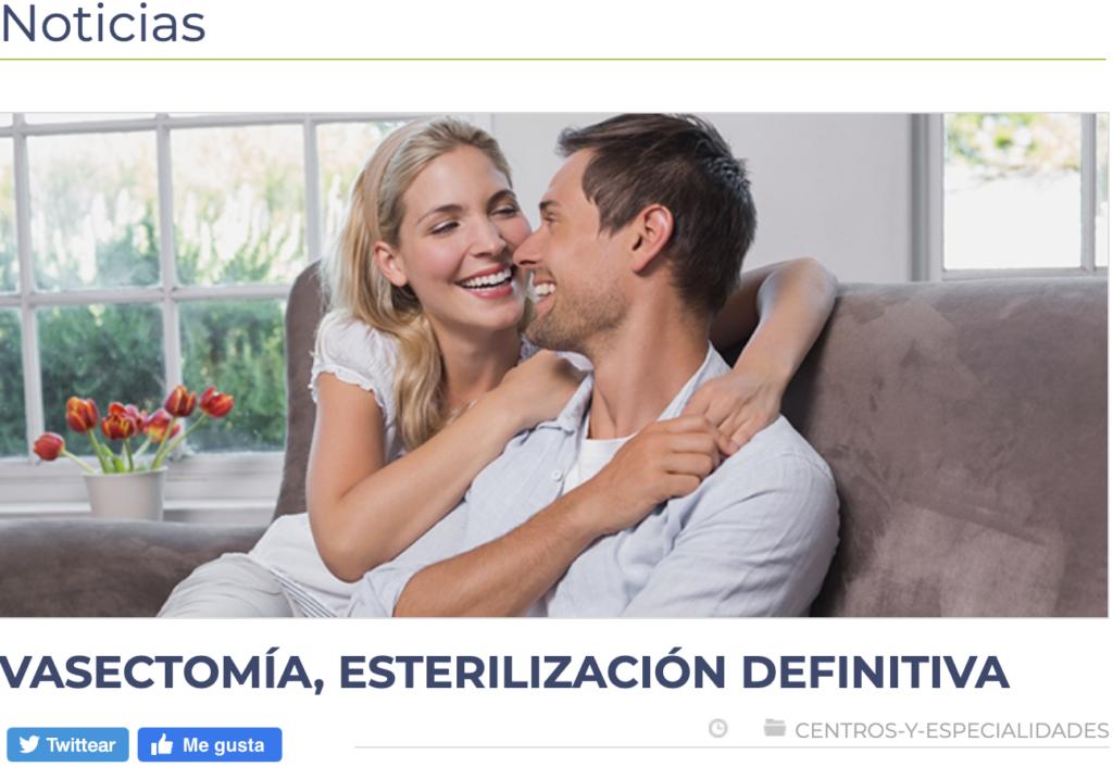 Revista CLC. Vasectomía, Esterilización Definitiva.